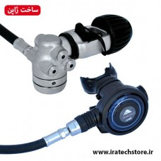 سِت مشکی بایو رگلاتور غواصی A-320  (مناسب نایتروکس) Bio Regulator a-320 NRX - YOKE