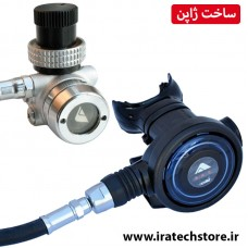 سِت مشکی بایو رگلاتور غواصی A-320  (مناسب نایتروکس) Bio Regulator a-320 NRX - DIN