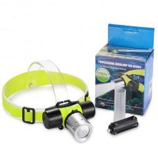 هِد لامپ غواصی CREE L2 1200 Lumen