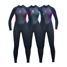 وت سوت غواصی 3.2 میل یک تکه با لایه تیتانیوم زنانه  OSPERY Odyssey Core Flex Wetsuit