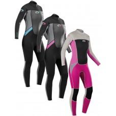 وت سوت غواصی 3.2 میل یک تکه از جنس Ultra Flex به همراه Velcro زنانه  OSPERY Origin Steamer Wetsuit